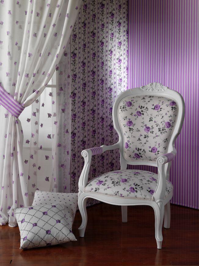 Colezione Marilù - tessuti stampati in h.280 composizione Co100% - printed fabrics in h.280 composition CO100%