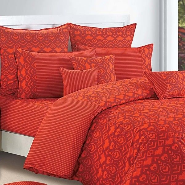 Ikat Saffron Duvet Covers, Comforters & Quilts, Shades of Paradise-2522