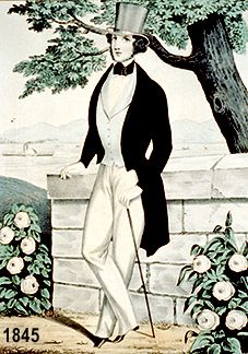 TOP HAT 1845 - Prince Albert made it fashionable