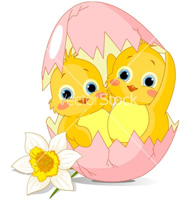 Easter cartoon vector 423016 - by Dazdraperma on VectorStock®