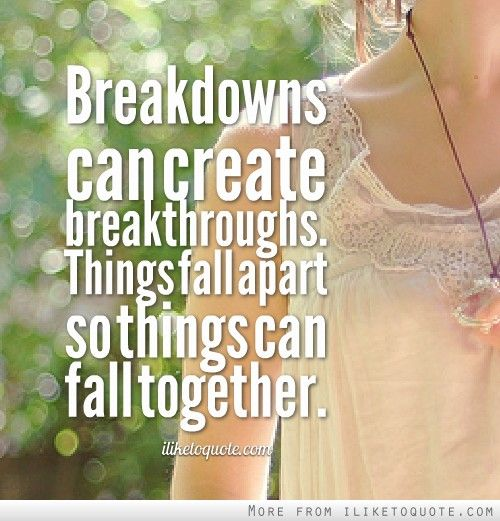 Falling Apart Inspirational Quotes: 1000+ Things Fall Apart Quotes On Pinterest