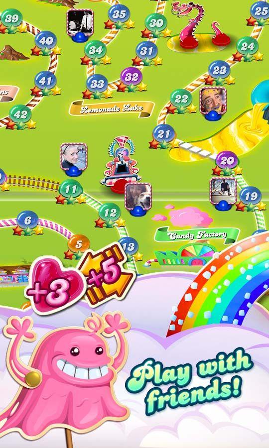Jouez à Candy Crush Saga en ligne sur King.com. Assortissez des bonbons pour progresser dans les centaines de niveaux de ce jeu délicieux. Exquis !