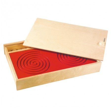 Tandem Boards - Birthday Super Specials - The boards encourage hand-eye coordination, fine motor skills and muscle development for a range of abilities. Set includes 5 x different designed wooden boards, knobs and wooden storage box measuring 7.5cm H x 55 W x 32cm D. Ages 4yrs+