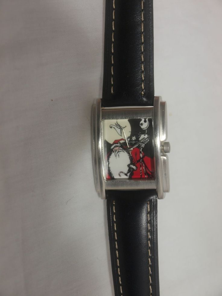 The Nightmare Before Christmas Disney Cast Member exclusive watch very rare