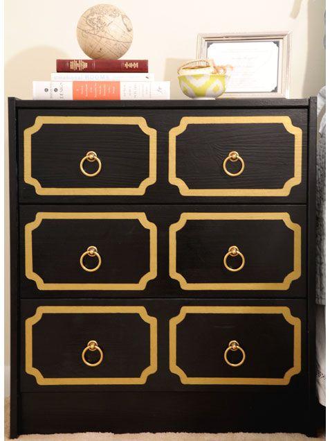 les 33 meilleures images propos de commode sur pinterest meubles tiroirs et cl grecque. Black Bedroom Furniture Sets. Home Design Ideas