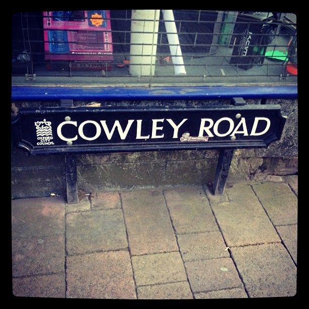 OXFORD, UK: COWLEY ROAD. A good place to visit while in Oxford, away from the centre's hustle, birthplace of the growing Oxford music scene