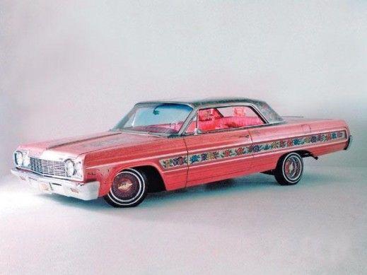 1964 gypsy rose impala jesse valdez | GypsyRose DriversSide 1964 impala 519x389 The Gypsy Rose A Lowrider ...