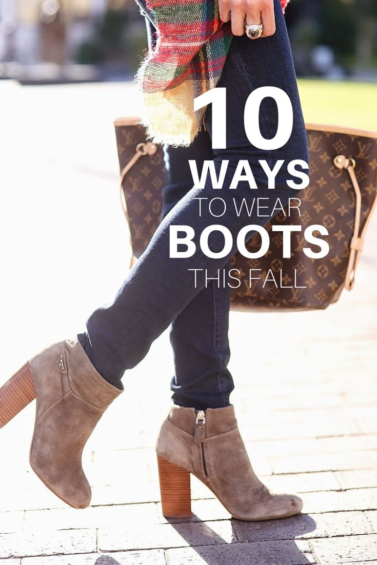 It's boot season and that means changing your outfits to better suit your favorite boots (haha rhyme time). I rounded up my 10 favorite boot styles, which may be impartial to myself but hey, who kn...