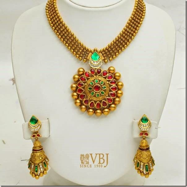 Gold Master Piece by VBJ | Jewellery Designs