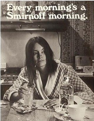 Every morning's a Smirnoff morning
