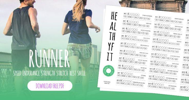 Pour vous aider à vous motiver et à tenir dans votre nouveau challenge de fitness voici une sorte de calendrier à imprimer et à colorier pour voir son avancée tous les jours. #fitness #fit #healthy #run #running #runner #cardio #calendar #speed #endurance