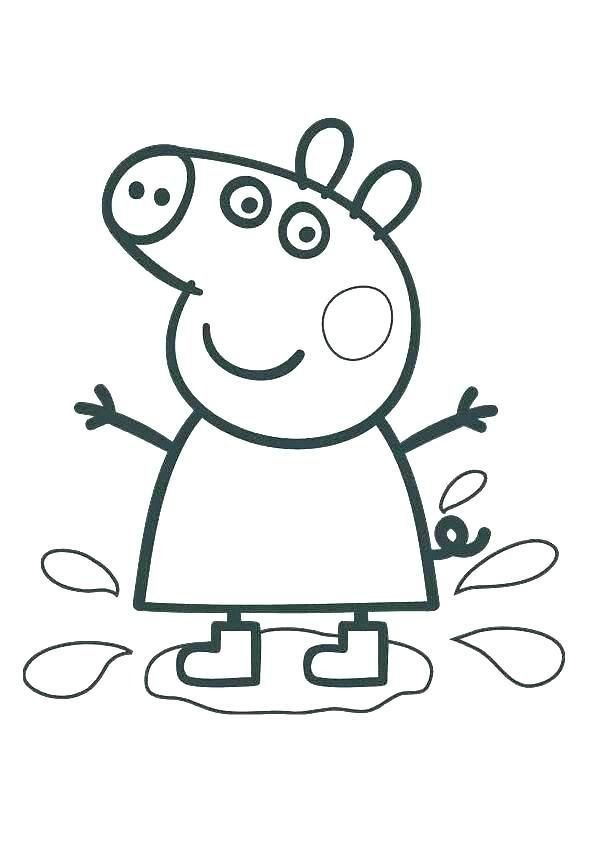 Coloring Pages Peppa Pig Pin Auf Disney Desenhos Peppa Pig Coloring  Pages, Peppa Pig Colouring, Peppa Pig Pictures