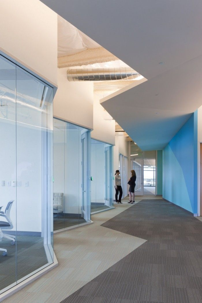 Navis, a world-leading shipping logistics company, has moved into a new headquarters in Oakland's Jack London Square designed by RMW Architecture & Interiors