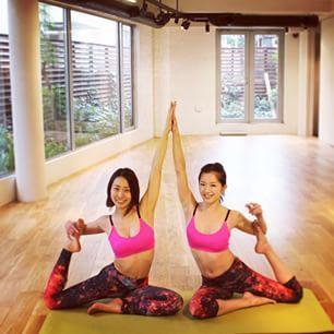 やまゆに提案するヨガ #ヨガ #yogagirl #鳩のポーズ #大胸筋