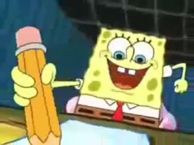 Spong Bob with Death Note