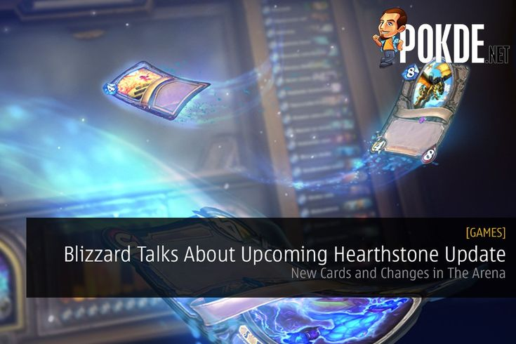 Blizzard has shared a bit of what to expect in an upcoming update for Hearthstone that is designed to change some things up in The Arena game mode. We also get a glimpse into some new cards.   Share this:   Facebook Twitter Google Tumblr LinkedIn Reddit Pinterest Pocket WhatsApp Telegram Skype Email Print
