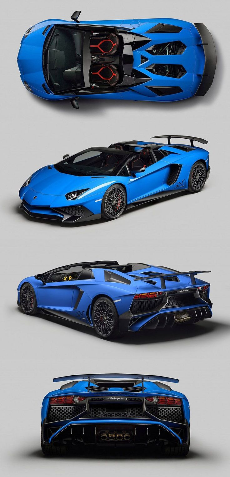 The New Lamborghini Aventador LP 750-4 SuperVeloce Roadster Goes Topless