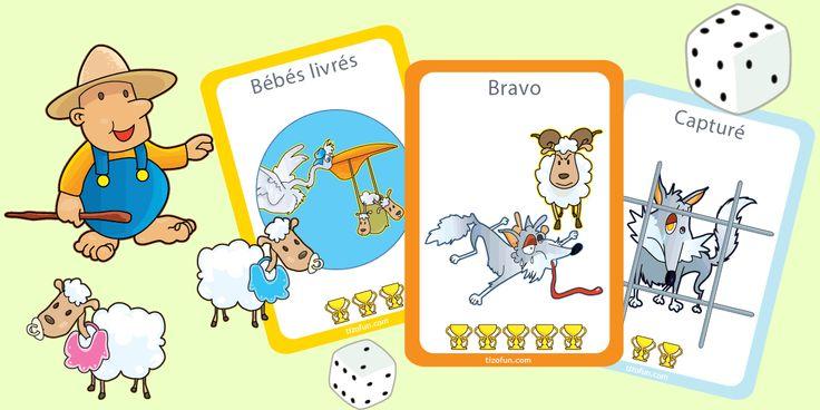 PDF Jeux Jeu Ludique ou Éducatif à Télécharger & Imprimer, pour apprendre et s'amuser sainement en groupe ou individuellement avec des jeux éducatifs imprimés.
