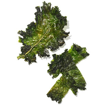 Swap kale chips in place of potato chips to add nutrients and subtract calories! Get the #snack recipe: http://www.parents.com/recipe/appetizers-snacks/krispy-kale-chips/?socsrc=pmmpin102612hsKaleChips