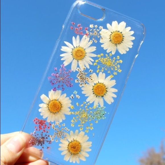 Handmade pressed dried flower phone case Exquisite Hand Selected Natural Dried Pressed Flowers Handmade iPhone 4 4S 5 5S 6 / 6 Plus,SE, 7, 7 plus, Samsung Note 7, Samsung S3, S4, Galaxy s5 - Galaxy S6 , S 6 Edge, S6 Edge Plus, S7, S7 Edge, S7 Edge plus, Samsung A3, A5, A7, E7, Alpha G850, LG G3, Note 3, 4, 5, Expedia Z3/ mini, Z5/ mini, - Blossom TreeCrystal Clear Case. Accessories Phone Cases