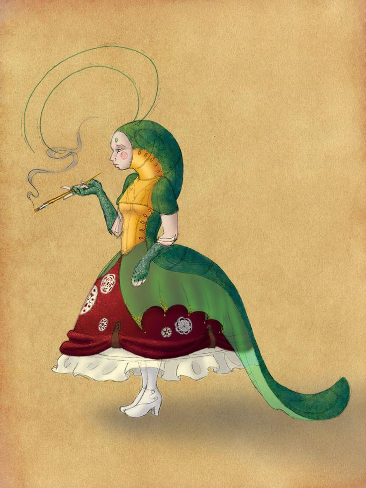 alice in wonderland caterpillar costume - Google Search                                                                                                                                                      More