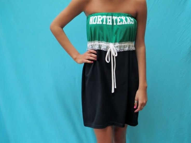 UNT Tailgate Game Day Dress Love My Game Dress by LoveMyGameDress