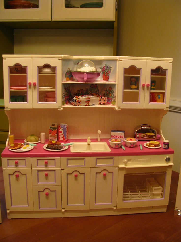 Lets be candid  Day care  Barbie kitchen Barbie doll
