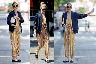 Cómo transformar la estética 90s en el outfit más chic según Olivia Palermo
