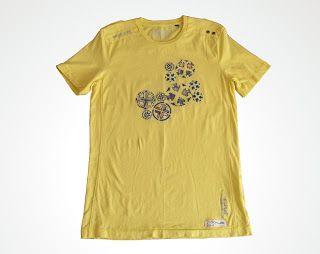 OrloSubito it: Maglietta per uomo gialla