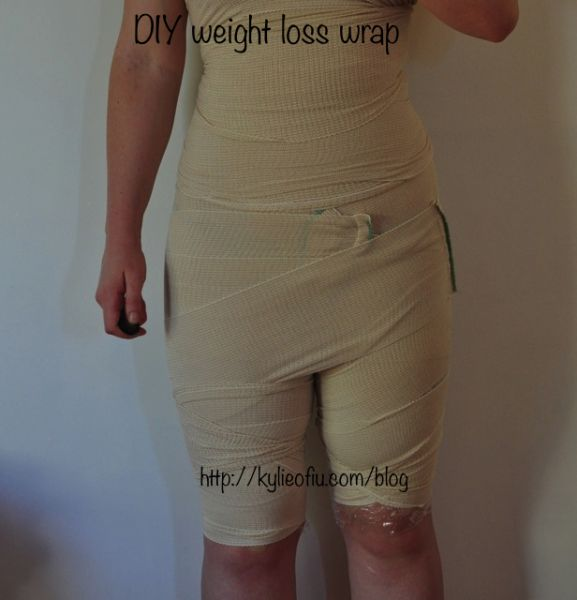 Diy At Home Weight Loss Wrap: 46 Best Images About Body Wraps On Pinterest