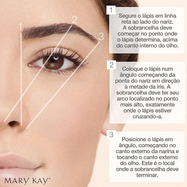 Dicas para sobrancelhas - Mary Kay