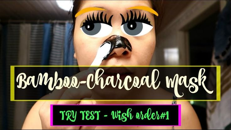 Black Charcoal Mask | try test epektib or not? | wish order#01 | SWEDEN |