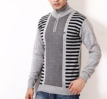 Fabtree Grey Men Semi Formal Sweater - SK-307-GY