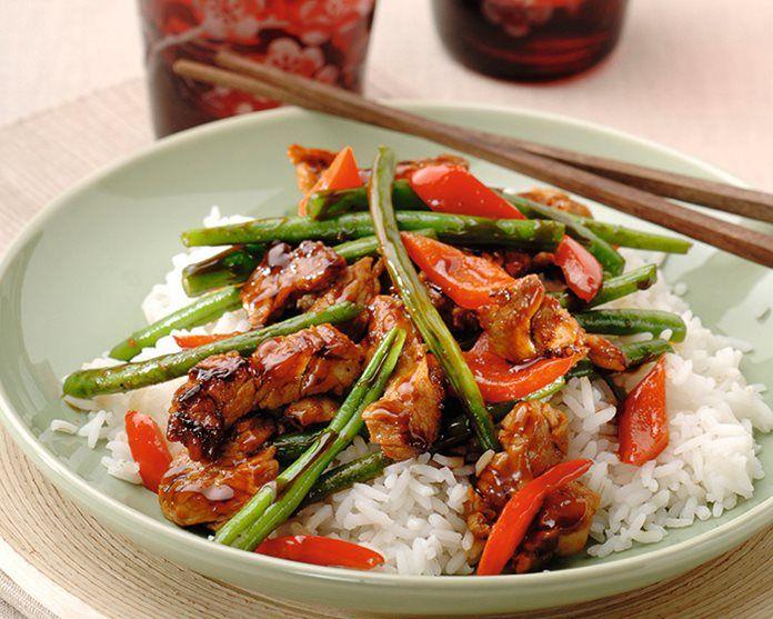 Gemarineerde varkenshaas wokken recept