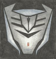 Decepticon Insignia - Vehicon (Steve) (TFP) by LadyIronhide