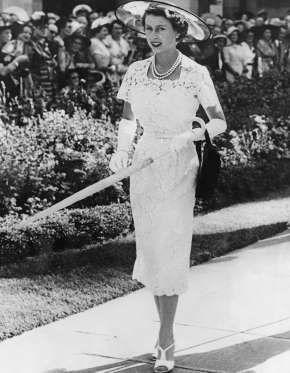 Elizabeth II : 90 ans de robes royales - Getty