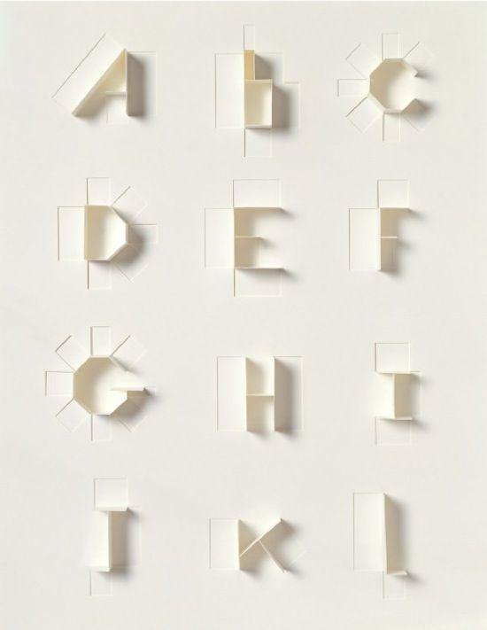 Sculpture Today & Paper Alphabet by Sonya Dyakova