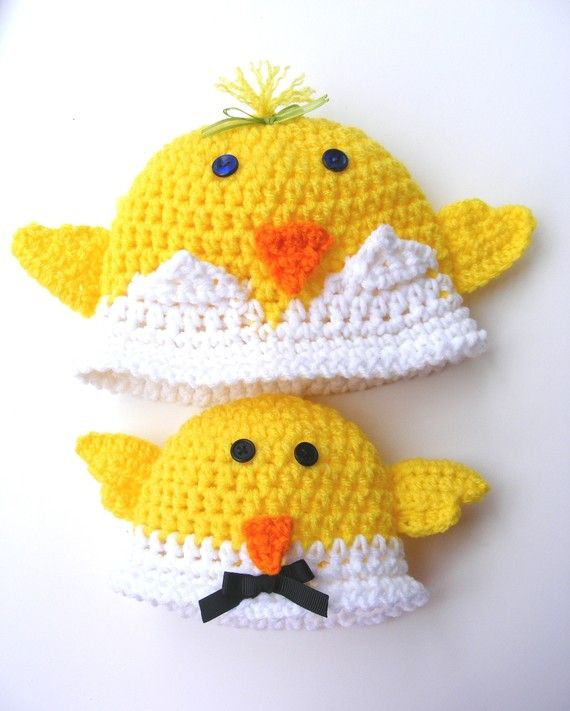 Baby Duck Hat Knitting Pattern : 17 Best images about Childrens hat ,scarf and gloves on Pinterest Crochet h...