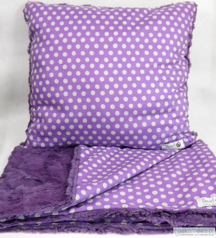 """Violet Dots"" by Monart"