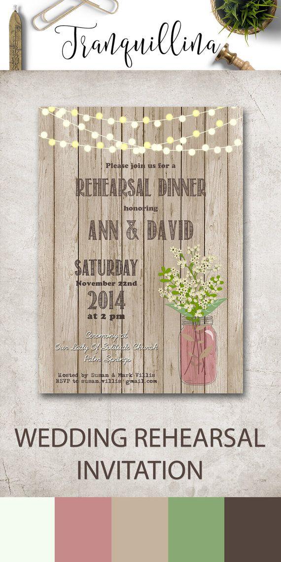 1000 Ideas About Wedding Rehearsal Invitations On Pinterest Rehearsal Dinn