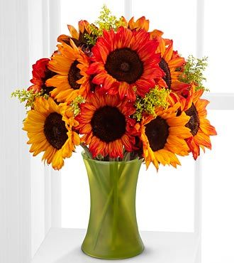 Different color sunflowers wedding pinterest nice for Different color roses bouquet
