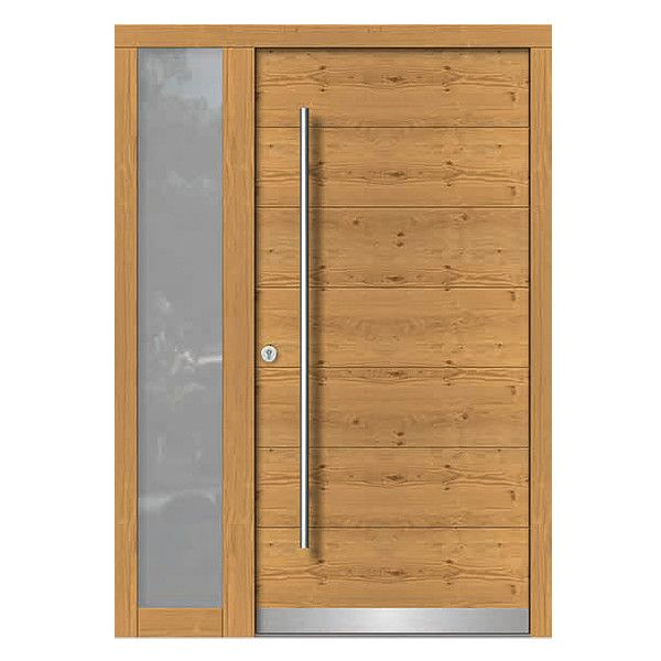 39 besten Türen Haustüren Holz Modern Bilder auf Pinterest Preis - moderne kuchen holz naturmaterial