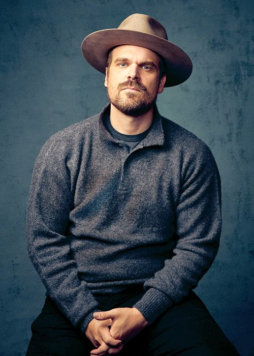 """He [Hopper] is a real tragic figure—he's got a lot of sadness to him, a lot of anger. A lot of times, with a character like this, you see they've lost a child, you see them reveal that depression early on. But what I loved about him was that he's a funny guy. He's sarcastic, he doesn't take life too seriously. And I thought that juxtaposition was very real, and very true to how a human being would deal with a tragedy like that."" (David Harbour, Stranger Things)"