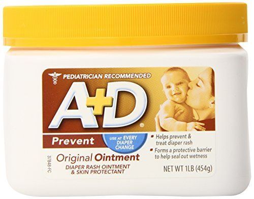 A&D Ointment, 16 Ounce A&D Ointment, 16 Ounce A+D Original Ointment helps prevent diaper rash by creating a protective barrier on your baby's skin. http://www.babystoreshop.com/ad-ointment-16-ounce/