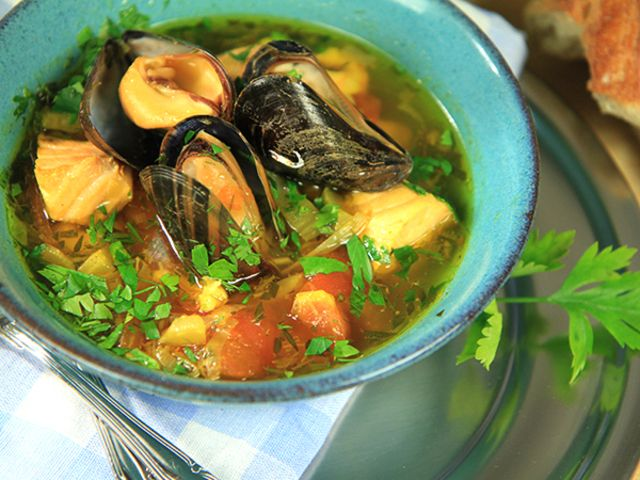 Italiensk fiskgryta (kock Paolo Roberto)