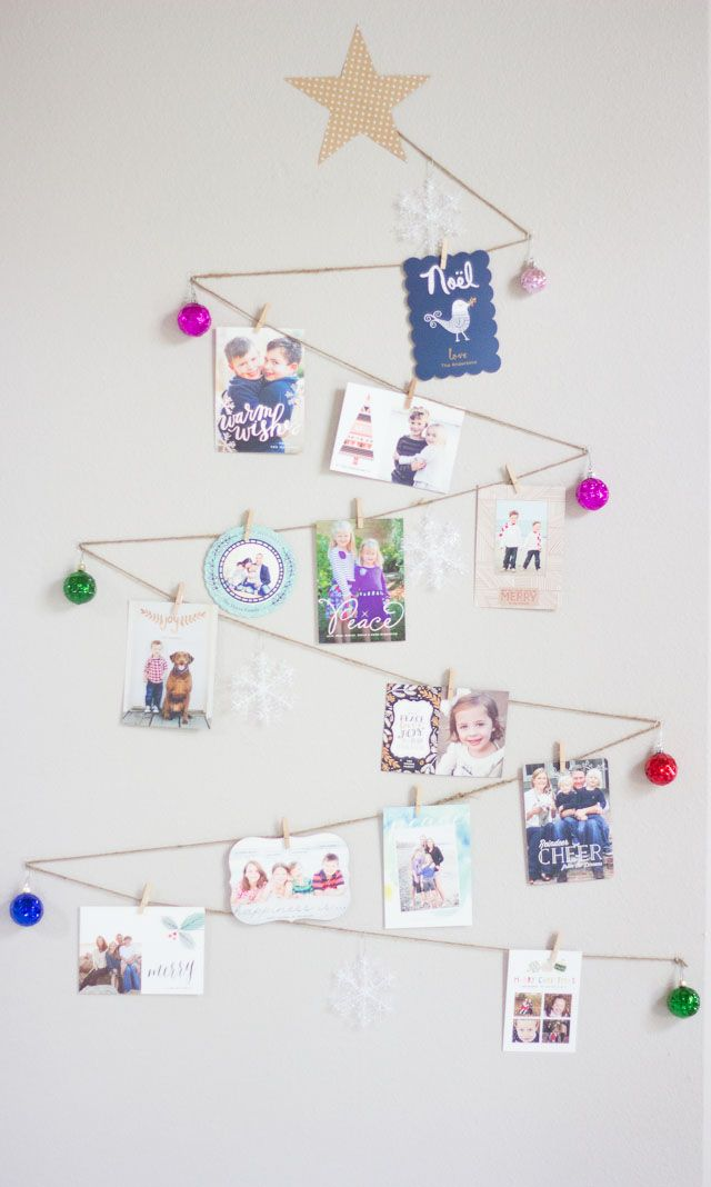 25 best Christmas: Card Display images on Pinterest | Christmas ...