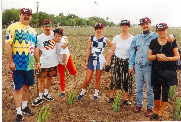 WEBNODE :: Fényképgaléria :: Nagy KatiAloe ültetvények 1998