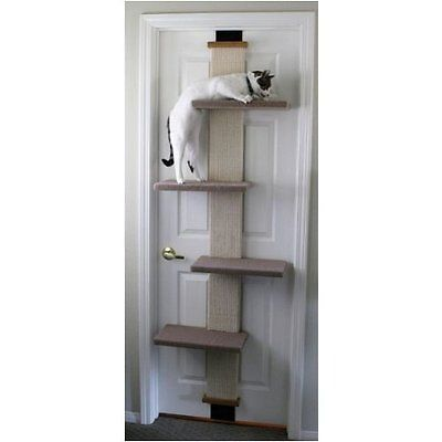 Cat Climber Multi Level New Scratcher Door Post Play Scratching Pet Tower tree