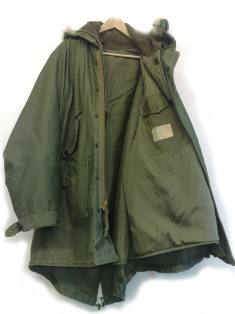 Original Complete M-1948 Fishtail Parka ~ Mine had The Who on the back...& a black one with Style Council...=) MY MODETTE DAYS