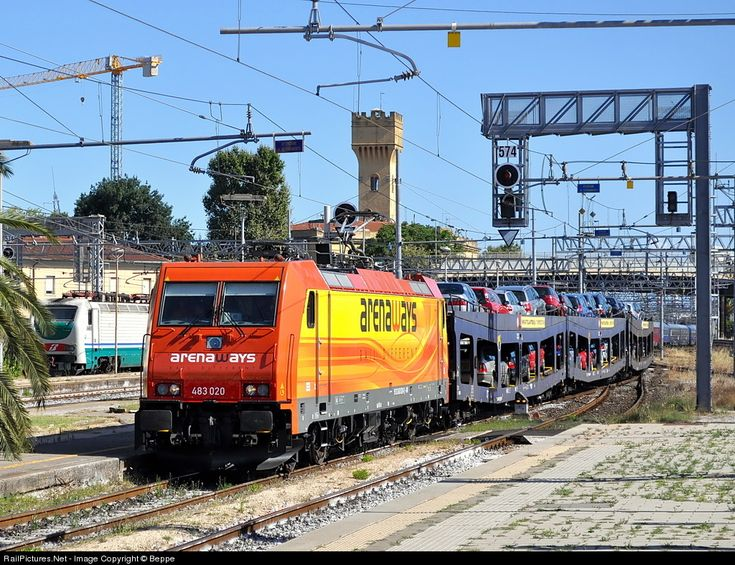 RailPictures.Net Photo: E.483.020 Arena Ways E.483 at Livorno, Italy by Beppe
